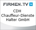 Logo CDH Chauffeur-Dienste - Halter GmbH