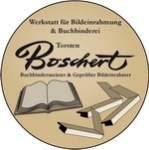Logo Buchbinderei - Bildeinrahmung Torsten Boschert