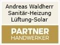 Logo Andreas Waldherr  Sanitär-Heizung-Lüftung-Solar  Meisterbetrieb