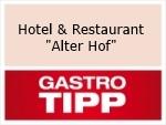"Logo Hotel & Restaurant  ""Alter Hof"""