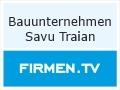 Logo Bauunternehmen  Savu Traian