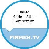 Logo Bauer Mode - Stil - Kompetenz