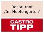 "Logo Restaurant ""Im Hopfengarten"""