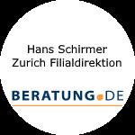 Logo Hans Schirmer  Zurich Filialdirektion