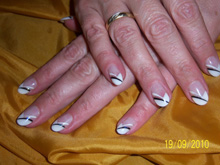 Nagelstudio Fingerfarben