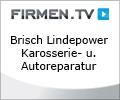 """Logo Brisch """"Lindepower"""" GmbH Karosserie- u. Autoreparatur"""