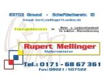 Logo Malermeister Rupert Mellinger