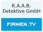 Logo R.A.A.B. Detektive GmbH