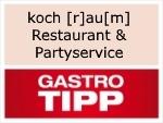 Logo koch [r]au[m] Restaurant & Partyservice