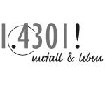 Logo 1.4301! metall & leben GmbH
