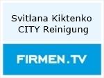 Logo Svitlana Kiktenko CITY Reinigung