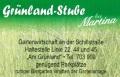 Logo Grünland-Stube bei Martina