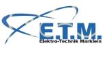 Logo E.T.M. Elektrotechnik Marklein UG