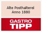 Logo Alte Posthalterei Anno 1880