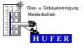 Logo Hufer Stephan Glas- und Gebäudeservice
