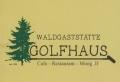 Logo Waldgaststätte Golfhaus