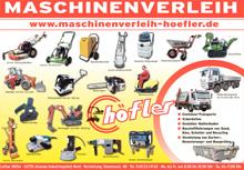 Lothar Höfler  Maschinenvermietung Höfler