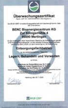 BENC  Bioenergiecentrum KG