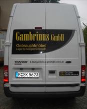 Gambrinus GmbH Gebrauchtmöbel