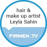 Logo leyla sahin hair & make-up artist gmbh