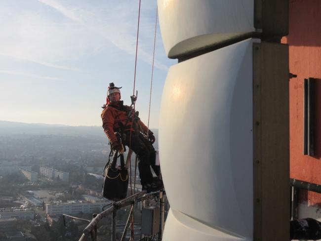 Kletterausrüstung Dresden : Industrieklettern vertikalis aus dresden