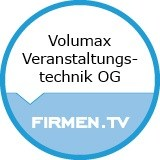 Logo Volumax Veranstaltungstechnik OG