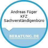 Logo Andreas Füger  KFZ Sachverständigenbüro
