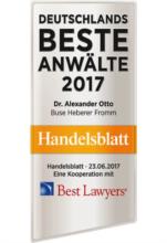 Buse Heberer Fromm PartG mbB Rechtsanwälte Steuerberater