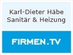 Logo Karl-Dieter Häbe  Sanitär & Heizung