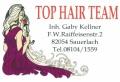 Logo Top Hair Team Inh. Gaby Kellner