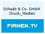 Logo Schaab & Co. GmbH Druck_Medien