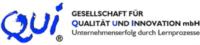 Logo QUI® Gesellschaft für Qualität und Innovation mbH  Unternehmenserfolg durch Lernprozesse