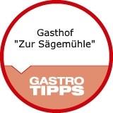 """Logo Gasthof """"Zur Sägemühle"""""""