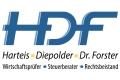 Logo HDF Harteis - Diepolder - Dr. Forster  Wirtschaftsprüfer - Steuerberater