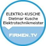 Logo ELEKTRO-KUSCHE Dietmar Kusche Elektrotechnikmeister