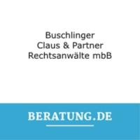 Logo Buschlinger, Claus & Partner  Rechtsanwälte PartG mbB