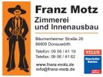 Logo Zimmerei und Innenausbau Franz Motz