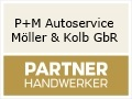 Logo P + M Autoservice Möller & Kolb GbR