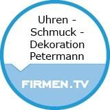 Logo Uhren - Schmuck - Dekoration Petermann