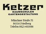 Logo Ketzer Baumschulen-Gartengestaltung