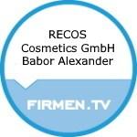 Logo RECOS Cosmetics GmbH Babor Alexander
