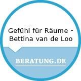 Logo Gefühl für Räume  Bettina van de Loo