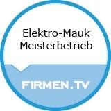 Logo Elektro-Mauk Meisterbetrieb
