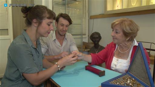 Filmreportage zu Barbara Reimold  Goldschmiede