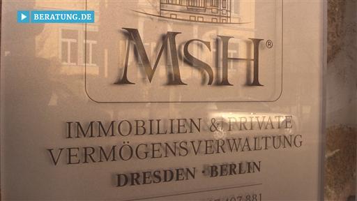 Filmreportage zu MSH | Private Vermögensverwaltung