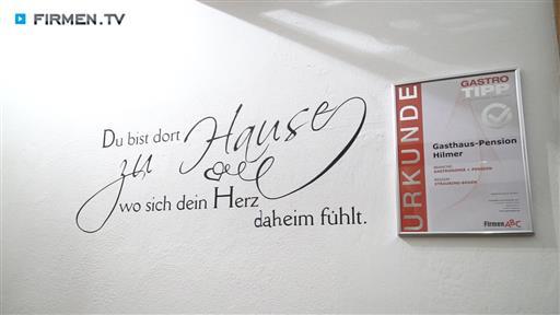 Videovorschau Gasthaus-Pension Hilmer