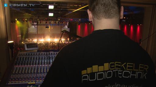 Filmreportage zu Gekeler Audiotechnik