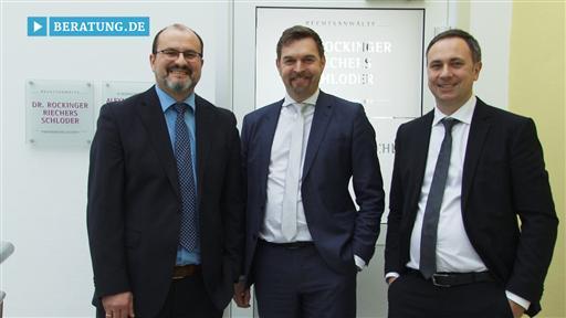 Videovorschau Rechtsanwälte Partnergesellschaft  Dr. Rockinger - Riechers - Schloder