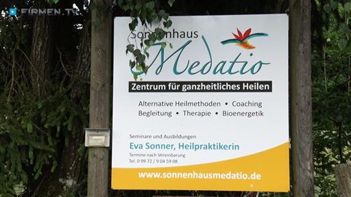Filmreportage zu Sonnenhaus Medatio  Inh. Eva Maria Sonner