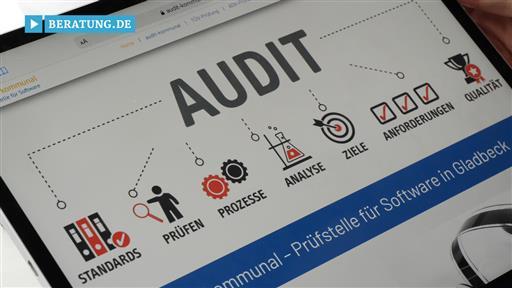 Videovorschau audit-kommunal Prüfstelle für Software